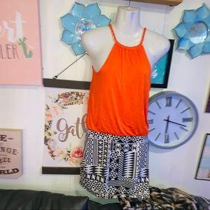 Soprano dress women's medium summer dress